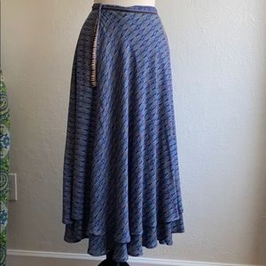 Free People Good For You wrap skirt